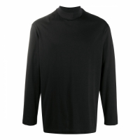Y-3 Men's 'Funnel Neck' Long-sleeve T-Shirt