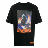 Heron Preston Men's 'Graphic' T-Shirt