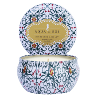 The SOi Company Bougie en étain 'Aqua De SOi' - Mistletoe & Holly 255 g