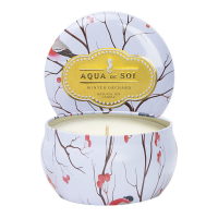 The SOi Company Bougie en étain 'Aqua De SOi' - Winter Orchard 255 g