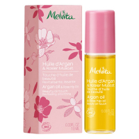 Melvita Organic Argan Oil with Rose Hip Roll-On - 10 ml