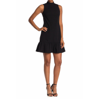 Calvin Klein Women's 'Sleeveless Ruffled' Mini Dress