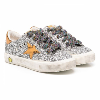 Golden Goose Children's 'Super-Star Glittery' Sneakers