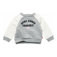 Levi's Baby Girl's 'Comes Trouble' Sweater