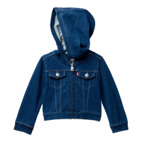 Levi's Baby Girl's 'Terry' Jacket