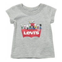 Levi's Baby Girl's 'Snoopy Squad' T-Shirt