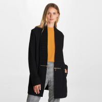 Karl Lagerfeld Women's 'Zipper Detail' Cardigan