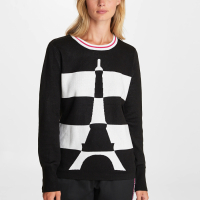 Karl Lagerfeld Women's 'Eiffel Tower' Sweater