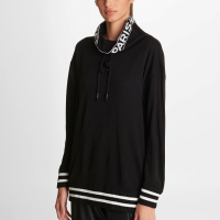 Karl Lagerfeld Women's 'Logo Cowl Neck' Sweater