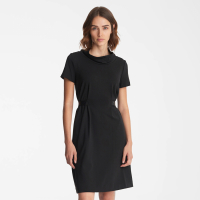 Karl Lagerfeld Women's 'Roll Collar Neck' Short-Sleeved Dress