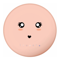 Inuwet 'Wiz Corail' Pocket Mirror