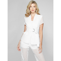 Guess Women's 'Tarida Belted Eyelet' Blazer