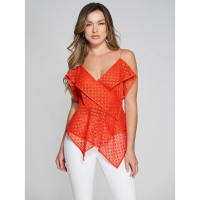 Guess Women's 'Mercury' Wrap Top