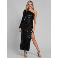 Guess Women's 'Galexia One-Shoulder Sequin' Gown
