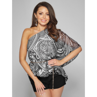 Guess Women's 'Nouveau One-Shoulder' Top