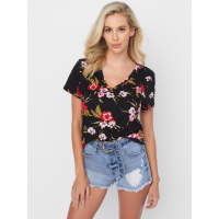 Guess Women's 'Shera Tropical' T-Shirt