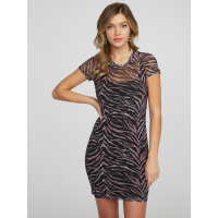 Guess Women's 'Elektra Tiger' Mini Dress