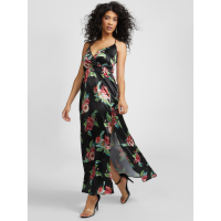 Guess Women's 'Mickey Floral Print' Maxi Dress