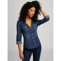 Guess Women's 'Juliana Snap Button' Top