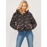 Guess Women's 'Cleo Logo Printed' Puffer Jacket