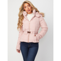Guess Women's 'Oriana Belted' Puffer Jacket