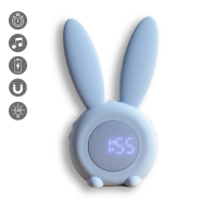 La Coque Francaise 'Rabbit' Alarm clock for Universal - Blue