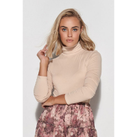 Makadamia Women's 'Golf' Turtleneck Sweater