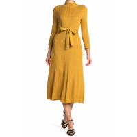 Calvin Klein Women's 'Belted' Midi Dress