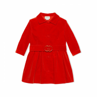 Gucci Big Girl's 'Corduroy Belted' Coat