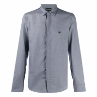 Emporio Armani Men's 'Logo Patch' Shirt
