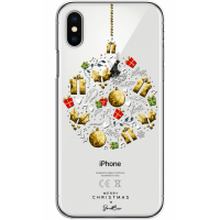 Sweet Access Étui pour téléphone iPhone X|XS - Multicolore, Transparent