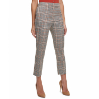 Tommy Hilfiger Women's 'Plaid Ankle' Trousers