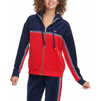 Tommy Hilfiger 'Colorblocked Graphic' Kapuzenpullover für Damen