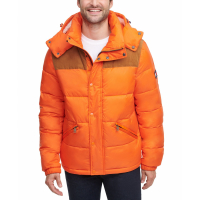 Tommy Hilfiger Men's 'Mixed Media Quilted' Puffer Jacket