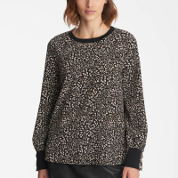 Karl Lagerfeld Women's 'Grogain Triming' Blouse