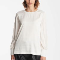 Karl Lagerfeld Women's 'Button Cuff' Blouse