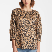 Karl Lagerfeld Women's 'Printed Balloon Sleeve' Blouse