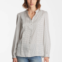 Karl Lagerfeld Women's 'Button Down Printed' Blouse