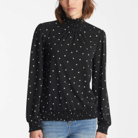 Karl Lagerfeld Women's 'Smocked' Top