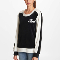 Karl Lagerfeld Women's 'Colorblock' Sweatshirt