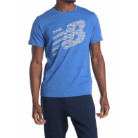New Balance Men's 'Graphic Heathertech' T-Shirt