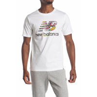 New Balance Men's 'Essentials Stacked' T-Shirt