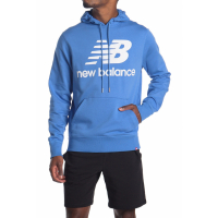 New Balance Men's 'Essentials Stack Logo Po' Hoodie