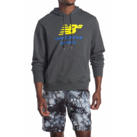 New Balance Men's 'Logo Stacked' Hoodie
