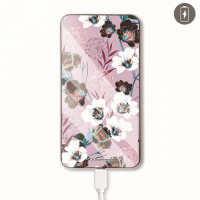 La Coque Francaise 'Fleurs Parme' Power Bank for Universal - Multicoloured 10000 mAh