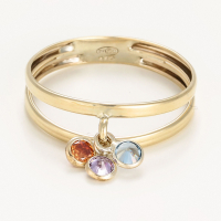 By Colette Women's 'Pierettes De Couleurs' Ring