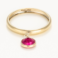 By Colette Women's 'Médaillon Rouge' Ring