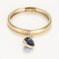By Colette Women's 'Médaillon Bleu' Ring
