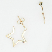 By Colette Women's 'Créoles Étoiles' Earrings