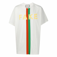 Gucci T-shirt 'Fake/Not' pour Hommes